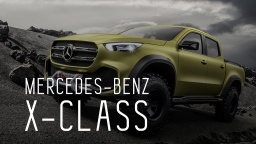 MERCEDES BENZ X CLASS 2018/МЕРСЕДЕС ИКС КЛАСС/ПЕРВЫЙ ОБЗОР/ЭКСКЛЮЗИВ