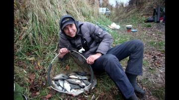 Рыбалка Осенью на Фидер. Ловля на фидер в ноябре 2019