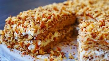 Пирожные/Торт «Белочка» Крем со Вкусом Мороженого | Рецепт Ольги Матвей