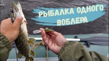 Когда 1 воблер отработал лучше 20 Простая рыбалка