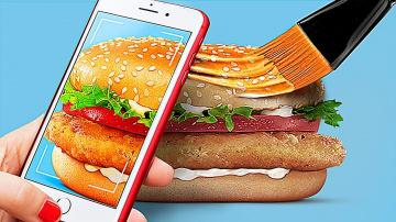 Трум Трум Еда в рекламе vs в реальной жизни