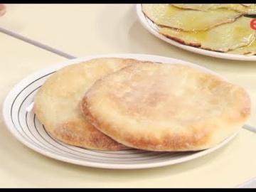 Лепёшки из муки и манки марокканские манные лепёшки Лазерсон Мировой повар