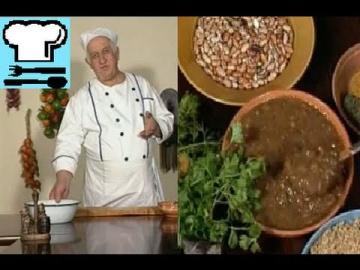 Лобио. Два варианта приготовления. Грузинская кухня. Рецепт ТВ.