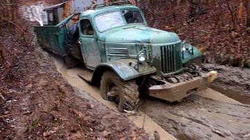 """ЗИЛ-157 """"Колун"""" Легендарный советский вездеход на бездорожье! Эта машина все еще может удивить!"""