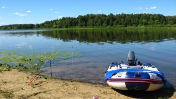 Рыбалка летом на Волге (Ловля Подлещика)