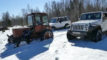 Турбо-Трактор vs Внедорожники Что лучше на бездорожье