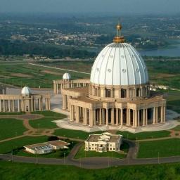 Чудеса Африки: Базилика Пресвятой Девы Марии Мира в Кот-д Ивуар: Самый большой собор в мире