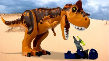 LEGO Мультики про ДИНОЗАВРОВ |  Мир Юрского Периода 2