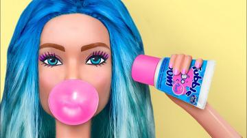 Трум Трум Миниатюрные сладости для Барби / 8 лайфхаков для куклы Барби