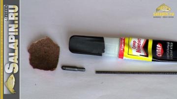 Оснащение маховой удочки коннектором [salapinru]