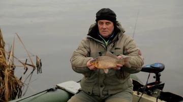 Рыбалка на карася в Украине.