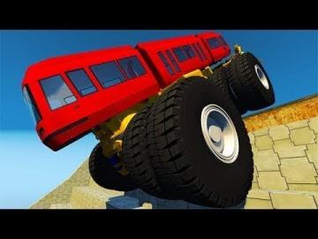 Мультфильм 2018 про машинки - Крутые прыжки машины и гонки Мультики для мальчиков