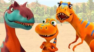 Поезд Динозавров Мультики для детей | Приключения Бадди и друзей