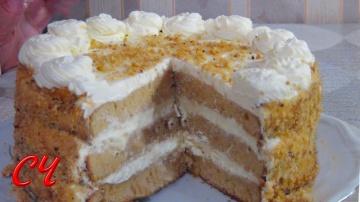 """Торт""""Волшебный"""" Очень Нежный и Вкусный"""