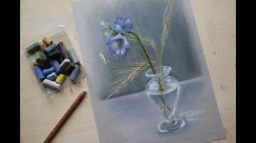 Урок рисования пастелью для начинающих