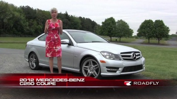 2012 Mercedes-Benz C250 Coupe Test Drive & Car Review with Emme Hall by RoadflyTV