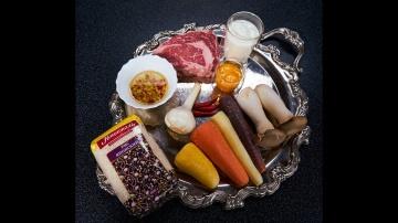 Узбекский плов с мраморной говядиной на японской кухне | Рецепт Сталика Ханкишиева