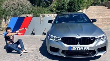 625 л с M5 Competition теперь быстрее E 63 AMG Тест-драйв и обзор новой версии в Ascari! BMW