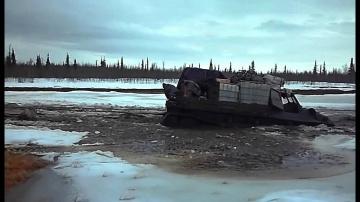 ГТ-Т легендарный вездеход Крайнего Севера! ГТ-Т в болоте шо танк в бою! Подборка