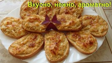 Ольга Уголок Бутерброды яблочные Очень вкусные