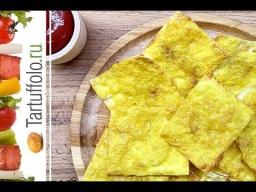 Алена Митрофанова -  Чипсы в духовке из лаваша (сырные)