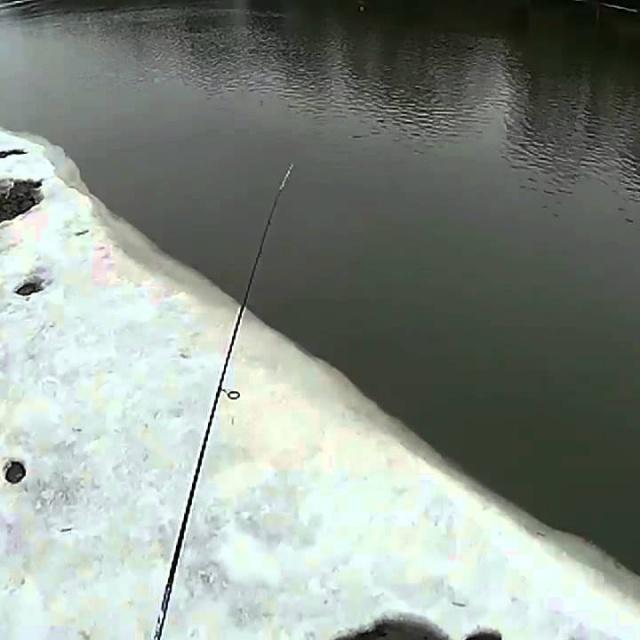 Городская рыбалка на спиннинг ранней весной