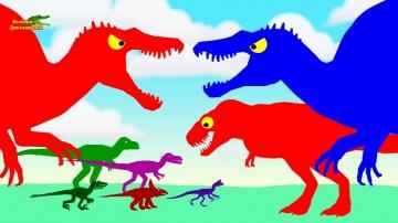 Веселые Динозаврики Мультики про Динозавров для детей | Динозавры мультфильмы для малышей