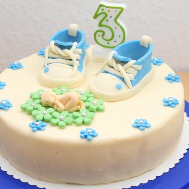 Детский торт из мастики своими руками