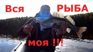 Один на РЫБАЛКЕ. Вся рыба моя!!! Эксперимент Простая рыбалка