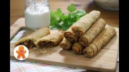 Слоеные Пирожки с Мясом | Рецепт  Ирины Хлебниковой