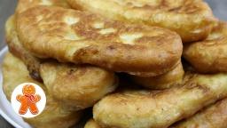 Ирина Хлебникова - Пирожки с картошкой пряженые жареные   Рецепт