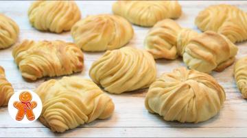 Слоеные Булочки с Сыром | Рецепт Ирины Хлебниковой