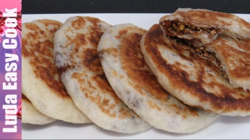 Позитивная Кухня ХОТТОК Корейские ЛЕПЕШКИ с Начинкой рецепт Вкусная УЛИЧНАЯ ЕДА в Корее – Sweet panc