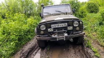 Тест-драйв УАЗа на бездорожье Монстр из СССР