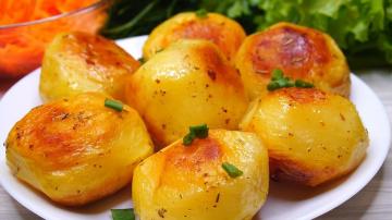 Картофель Чудо какой Хрустящий Секрет в приготовлении | Рецепт Калинина Наталья