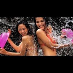 Фестиваль воды Сонгкран в Тайланде: Songkran Water Festival