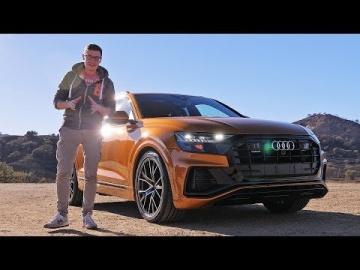 НОВЕЙШИЙ АУДИ КУ8 Первый тест-драйв и обзор Audi Q8 2019