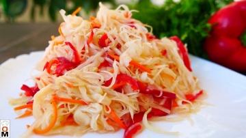 Супер Салат из Капусты Рецепт Ольги Матвей