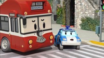 Робокар Поли - Правила дорожного движения - Как переходить дорогу - Мультики про машинки