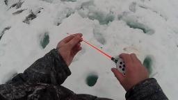 Хариус наших Рек часть 1 Зимняя рыбалка