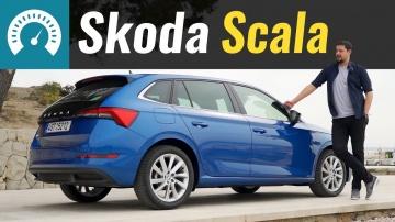 Skoda Scala 2019 - Golf по цене Rapid? Обзор Шкода Скала