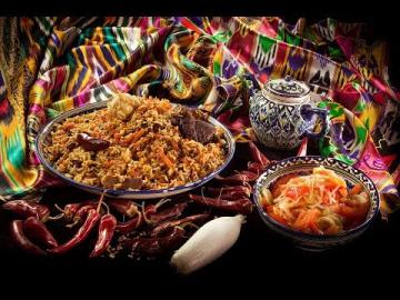 Сталик Ханкишиев Конкурс узбекской кухни, отборочный этап №3