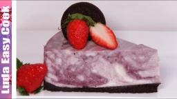 Торт Мраморный Творожно -Ягодный без Выпечки Безумно Вкусный и Нежный   Рецепт Позитивная Кухня