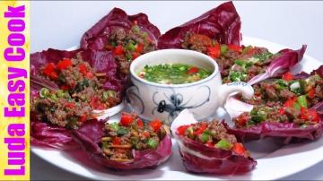 Вкусная мясная закуска по-новому оригинальная подача блюда ludaeasucook