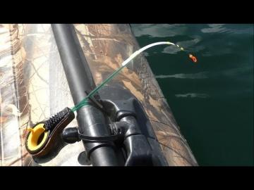 рыбалка с лодки на зимнюю удочку