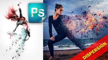 Эффект распада в Фотошоп / Создаем дисперсию с пеплом и углями