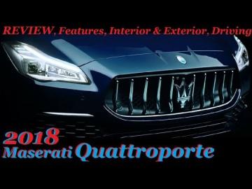 2018 Maserati Quattroporte REVIEW, Features, Interior & Exterior, Driving Обзор Тест Драйв
