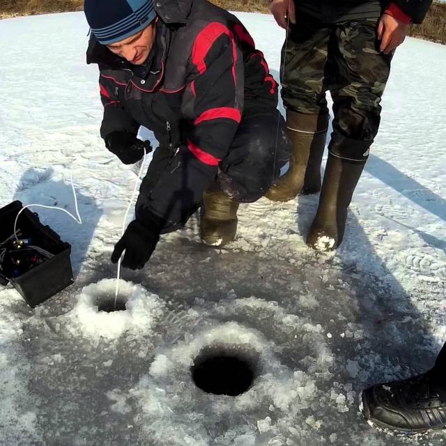 Рыбалка по первому льду Щука на балансир
