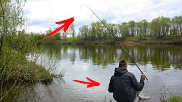 Ловля крупного карася на удочку | Рыбалка на карася с поплавком