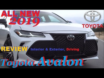 ALL NEW 2019 Toyota Avalon - REVIEW, Interior & Exterior, Driving Обзор Тест Драйв